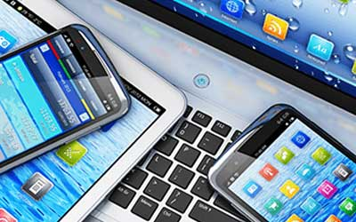 Smart phones, laptop and tablets